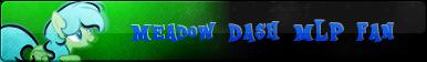 (C) MLP Fan Button Meadow Dash MLP by ShootingStarYT