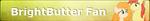 MLP BrightButter Fan Button by ShootingStarYT