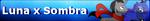 MLP Luna x Sombra Fan Button by MiserisYT
