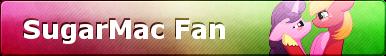 MLP SugarMac Fan Button by ShootingStarYT