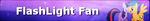 MLP FlashLight Fan Button by MiserisYT