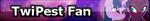 MLP TwiPest Fan Button by MiserisYT