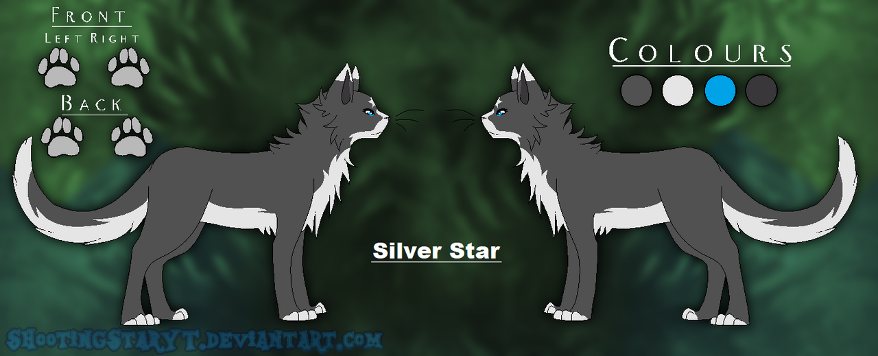 Silver Star -Ref Sheet- [Offical 2018] by ShootingStarYT