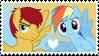 Flash Magnus x Rainbow Dash .:Stamp:. [F2U] by ShootingStarYT