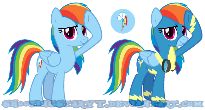 MLP - Rainbow Dash [Next Gen ''Nebulaverse''] by ShootingStarYT