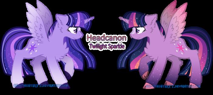 Princess Twilight Sparkle .:Headcanon Design:. by ShootingStarYT