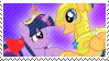 Twilight Sparkle X Flash Sentry [Stamp] by ShootingStarYT