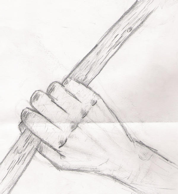 Hand Holding Stick ~ Hand holding a stick by godessofthedead on deviantart