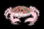 Plaid Snow Crab by Aqrion-Admin