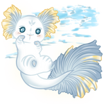 Ghostly lil Axolotl by Aqrion-Admin