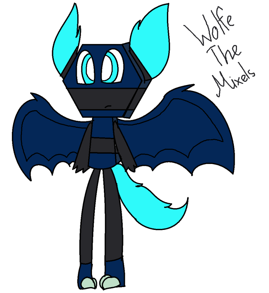 Wolfe The Mixels by astya45