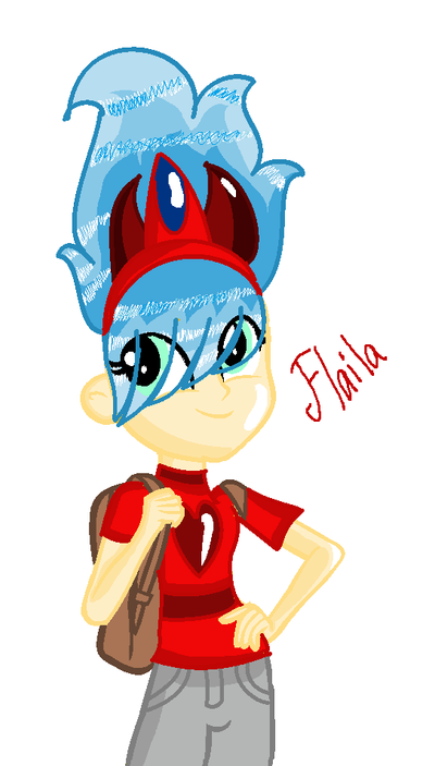 Flaila Human by astya45