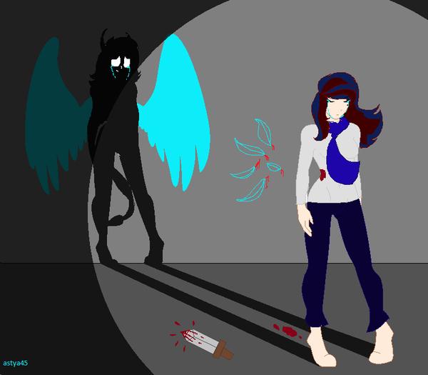 Let the wings die by astya45