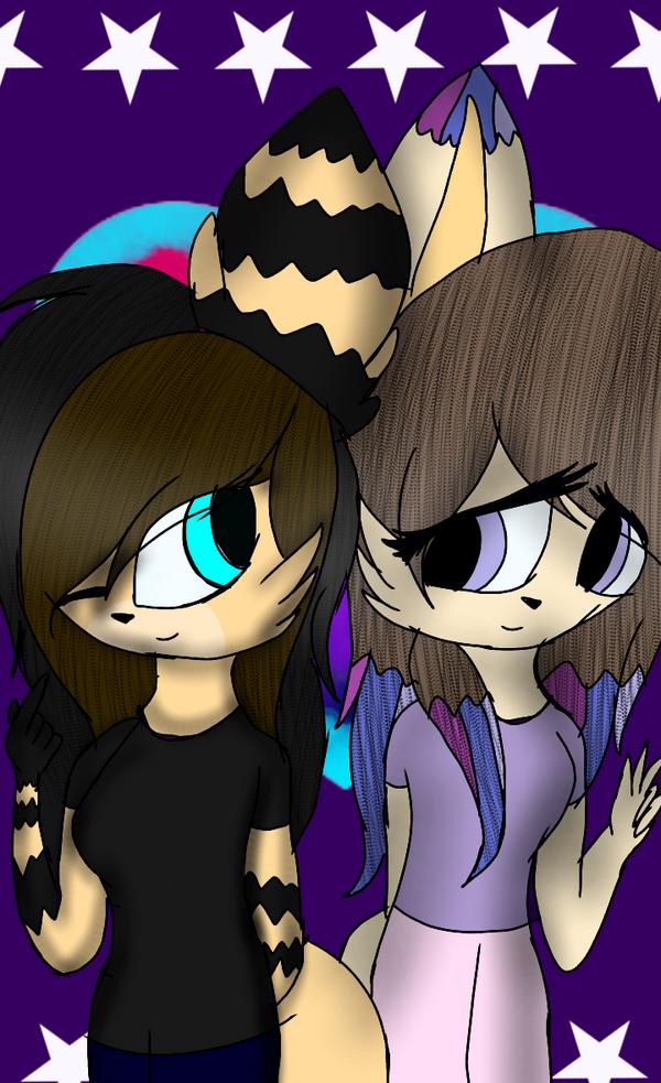 Aisha and Loki by astya45