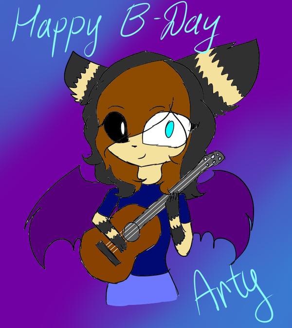 Happy B-Day by astya45