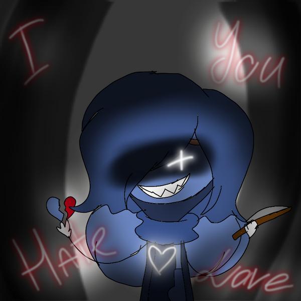 I hate you LOVE by astya45