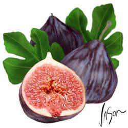 Figs by fordonfoodart
