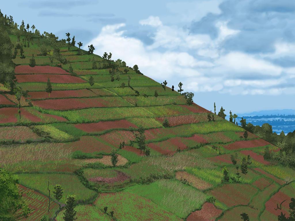 Challenge #9: Landscape by 8lackbark