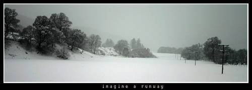 imagine a runway by almostkrap
