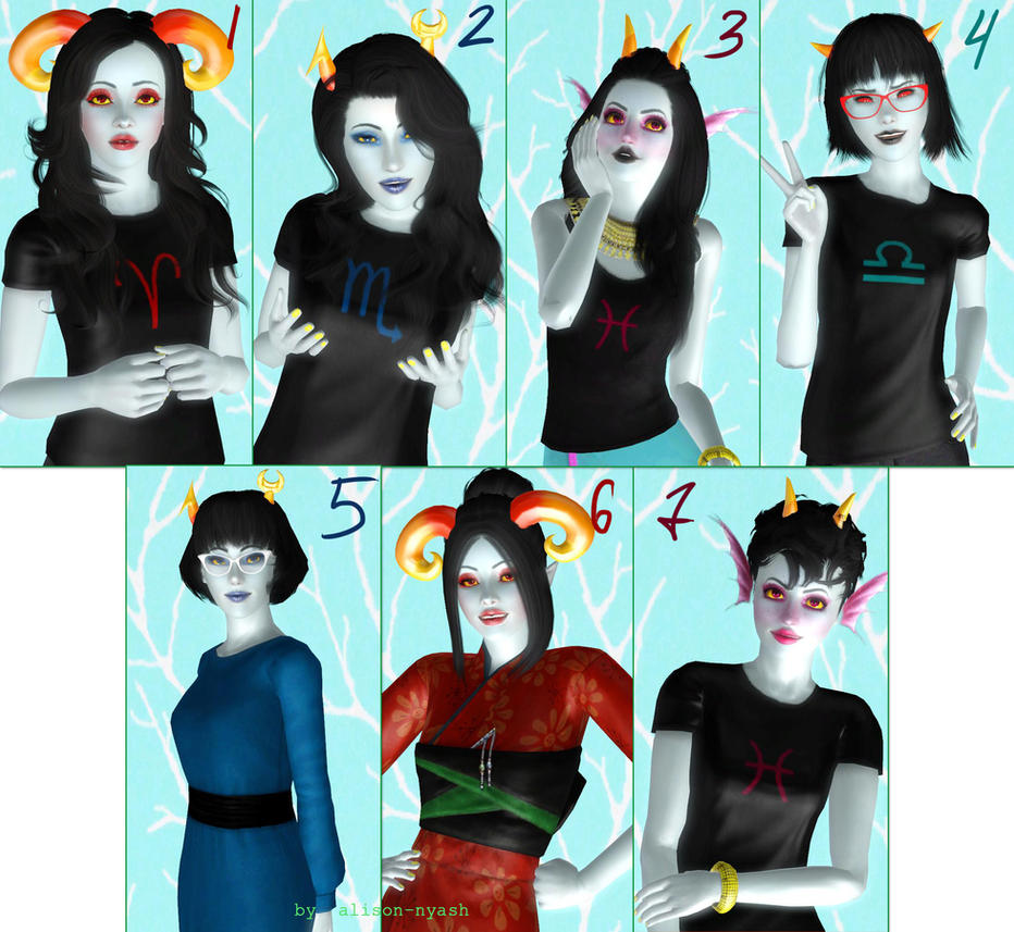 Downloads homestuck trolls by me by alison nyash on for Home by me download