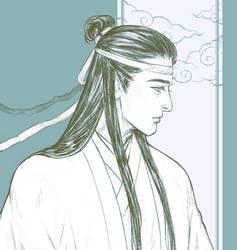 Lan WangJi sketch