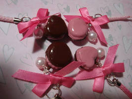 Yummy cake charms by LadySashaviv