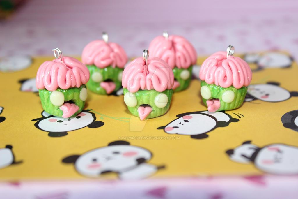 2014 Zombie Cupcakes by LadySashaviv