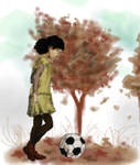 The Walking Dead_Old Broken Autumns by Abecedye