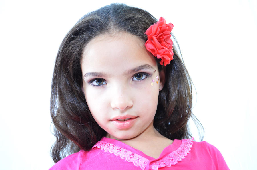 Photo essay with model Isabelle Gomes (7 year old).