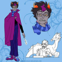 Eridan Ampora by TheSilverTopHat