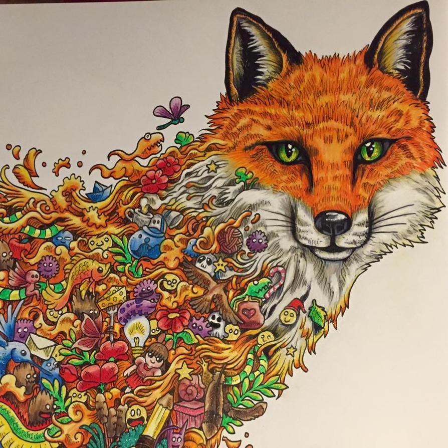 Animorphia Colouring Book By PixelnSprites