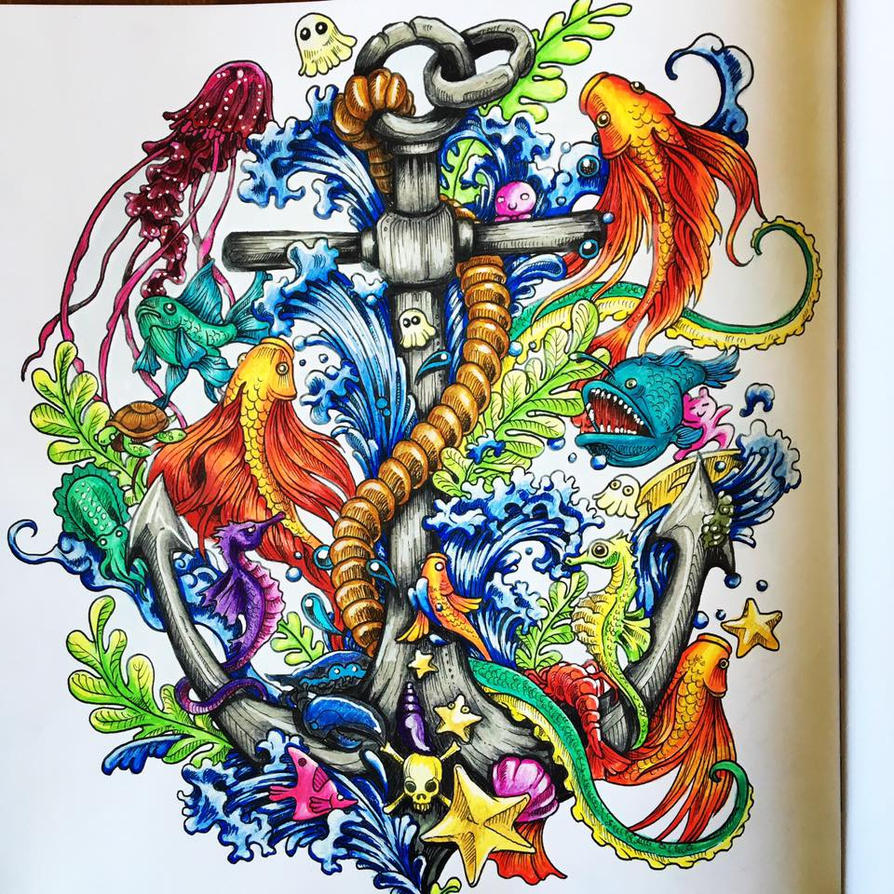 Imagimorphia colouring book by pixelnsprites on deviantart for Imagimorphia coloring pages