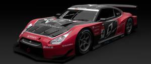 2010 Laviotech SSR Team Mako Nissan GT-R GT500