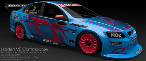 Laviotech 2011  V8 Supercars Holden VE Commodore by BayuBaron