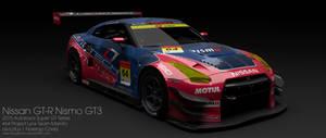 2015 PLTM Nissan GT-R Nismo GT3