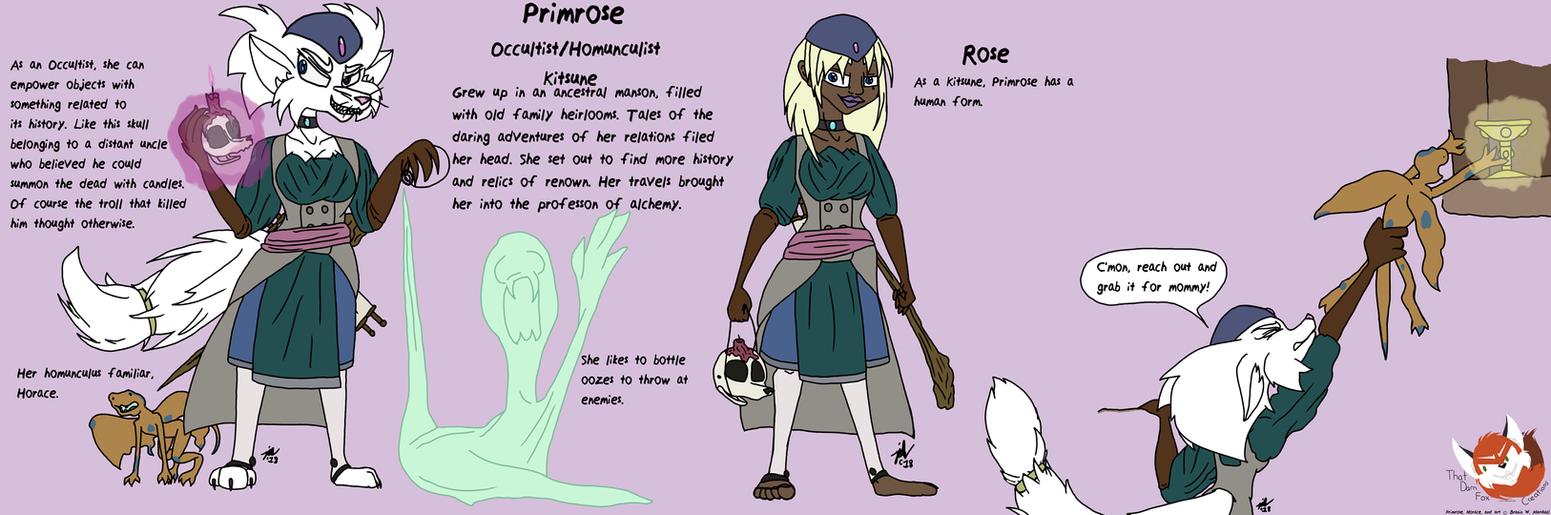 Primrose by BingFox