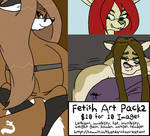 Fetish Art Pack 2 Fat by ThatDarnFoxCreations