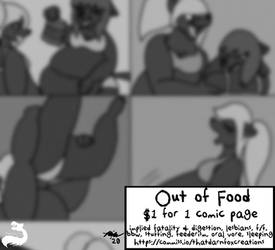 Fetish Page: Out of Food