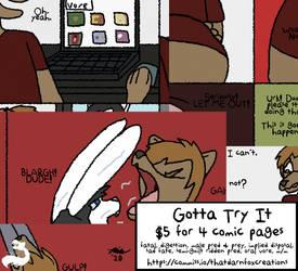 Fetish Comic: Gotta Try It