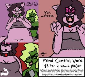 Fetish Comic: Mind Control Vore