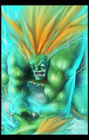 BLANKA's ELECTRIC THUNDER by BAKART