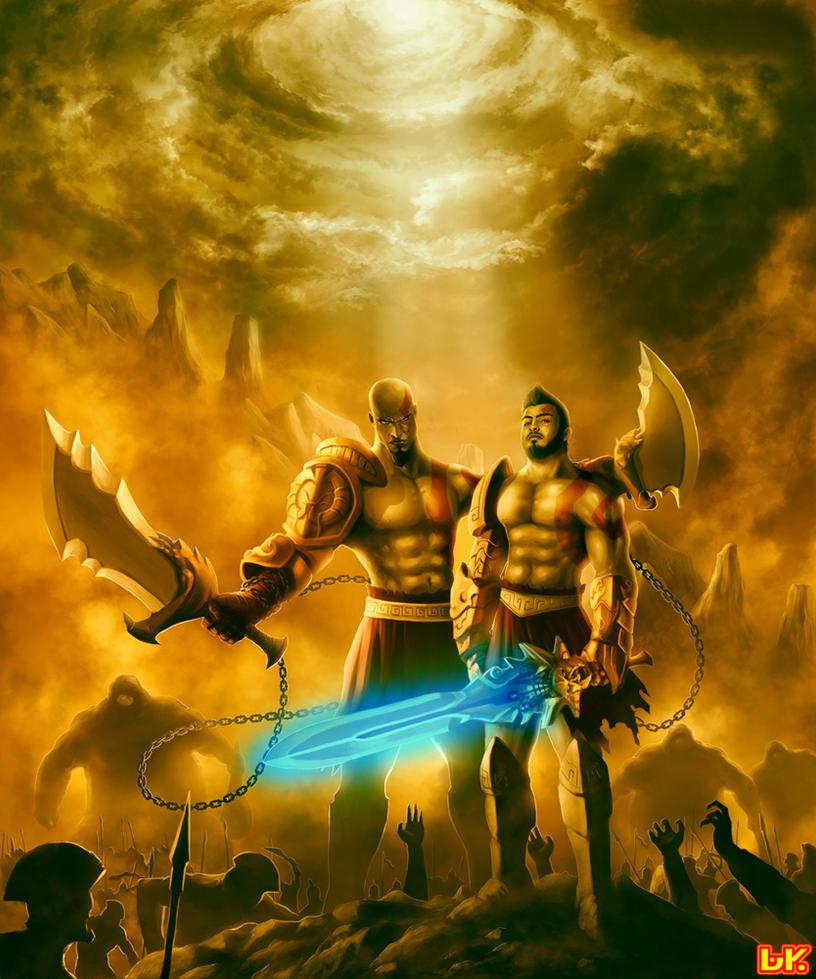 com: GOD of WAR:double impact by BAKART