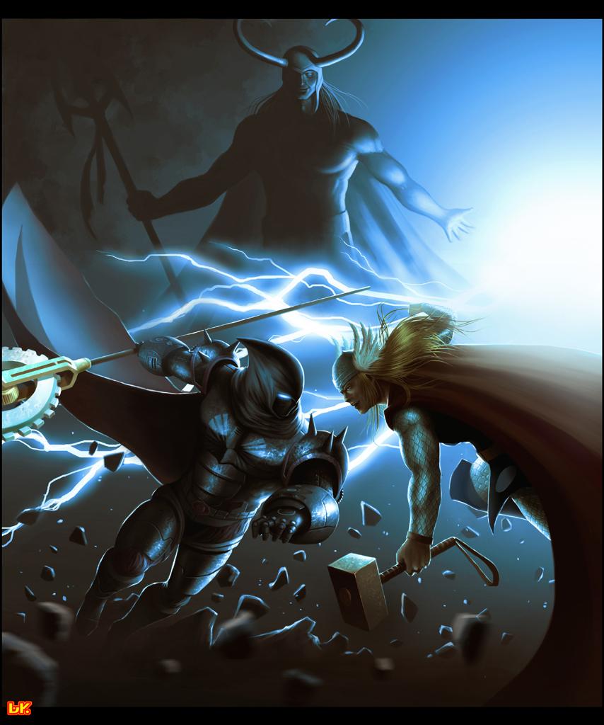 BATTLE of the GODS by BAKART