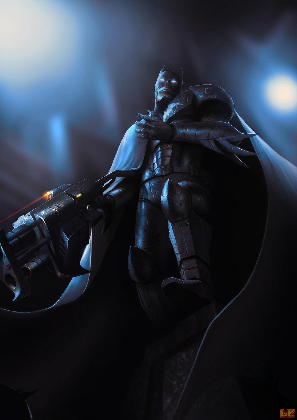 ARMORED BAT by BAKART