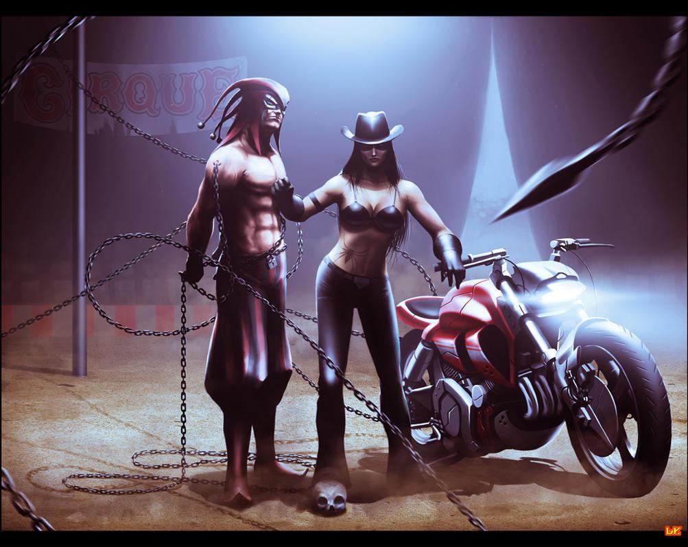 The Dangerous Duo by BAKART