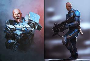 SHOOTER X Armor Design by BAKART
