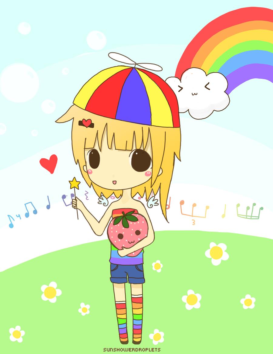 Rainbow Girl by sunshowerdroplets on DeviantArt # Sunshower Girl_152314