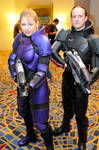 Mass Effect Armor Male and Fem