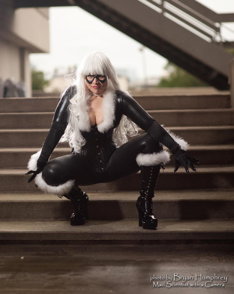 Black Cat Cosplay Meow!! by ParadoxJaneDesigns