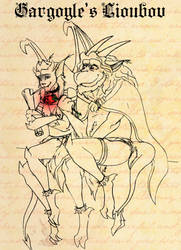 Gargoyle's Love by K-Zlovetch